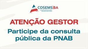 Consulta Pública PNAB